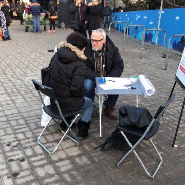 Zbieranie podpisów 25.02 Warszawa