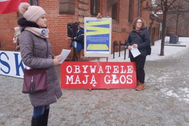 Zbieranie podpisów 27.01 Toruń