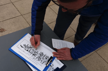 Zbieranie podpisów 10.03 Warszawa