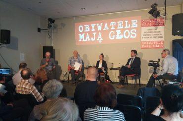 Drugie wysłuchanie obywatelskie – Urszula Zielińska iAdam Traczyk