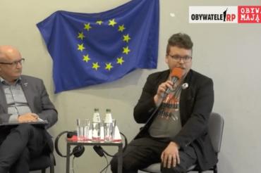 Wysłuchanie obywatelskie Jacek Kubiak iMateusz Dobrowolski