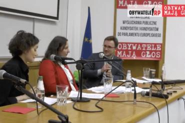 Wysłuchanie obywatelskie Agata Nosal-Ikonowicz